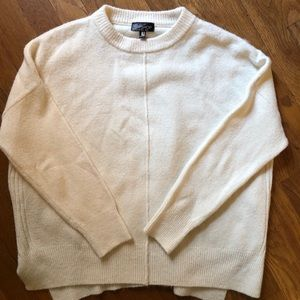Topshop cream sweater